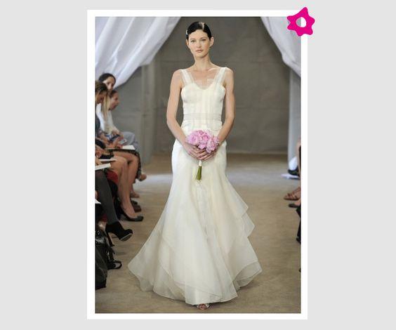 Vestidos de novia de Carolina Herrera 2013