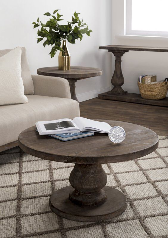 Amelia Coffee Table With Images Round Wood Coffee Table Coffee Table Coffee Table Wood