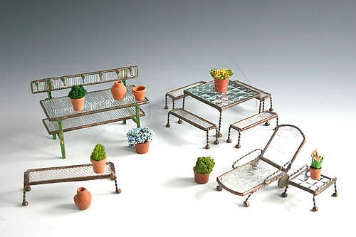 greenhouse_accessories_potting_bench_table_and_bench_chaise_lounge_with_side_table_and_garden_bench_with_pots_