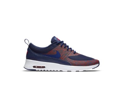 Nike Air Max Thea Print Women\u0026#39;s Shoe, Loyal Blue/University Red/White