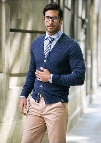 How to Wear Khaki Chinos (395 looks)   Men's Fashion