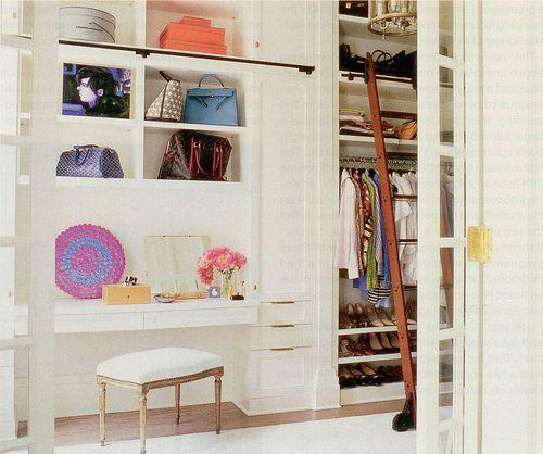 closet + vanity - Curated Closets