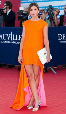 Clotilde Courau in Christian Dior - Deauville Film Festival 2013 #HauteCouture #RedCarpet