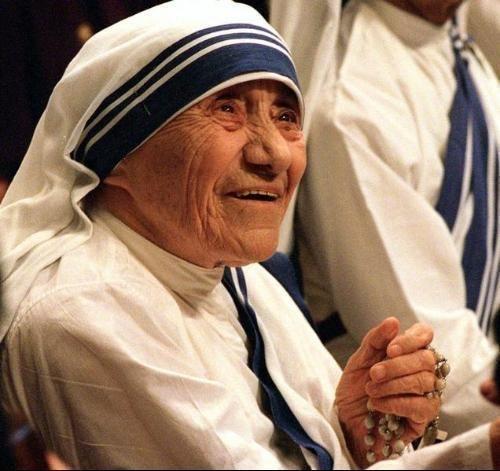 Madre Teresa e sua vida dedicada a missionariedade!!!  :)