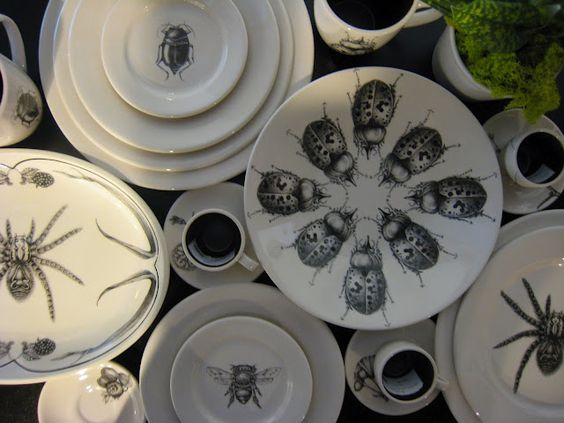 Insect flatware