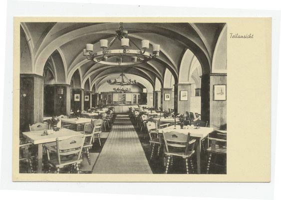 Königsberg, Börsenkeller, Restaurant, Inneneinrichtung
