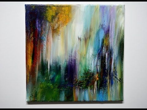easy acrylic painting real time abstract einfach malen echtzeit v295 waking dreams youtube idee farbe inspirierende kunst gerhard richter abstraktes bild 1986 bilder abstrakt modern
