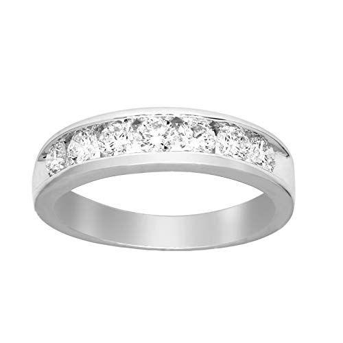 Lab Grown Diamond Engagement Rings For Women 7 8carat Channel Set Diamond Ring In 2020 Channel Set Diamond Ring Lab Created Diamond Rings Diamond Band Engagement Ring