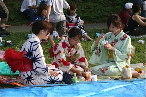 hanabi Japão
