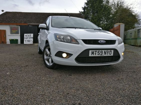 Stunning White Ford Focus Zetec With Only 89 000 Miles Nice Dash And Clocks With Multi Function Ford Focus Zetec Ford Focus Ford
