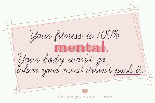 Its all mental