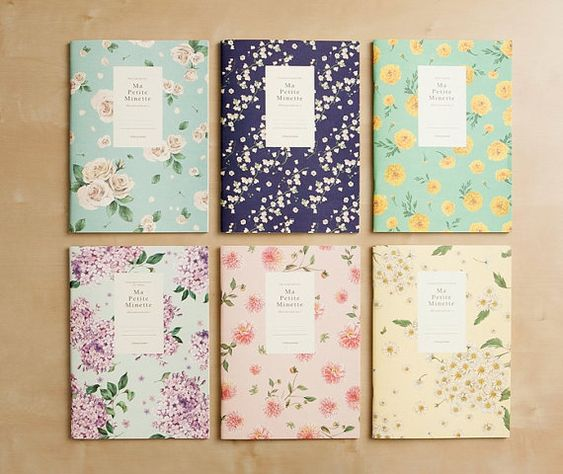 Ruled Notebook [floral Pattern] / Flower Ruled Notebook