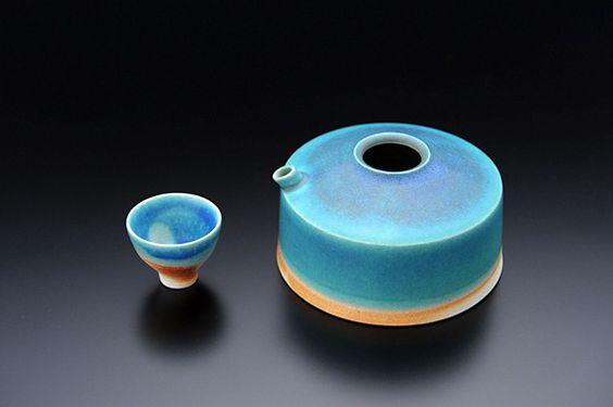 Turquesa, ceramica.