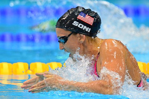 soni sets world record wins gold in 200 breast olympics team usa and usa olympics