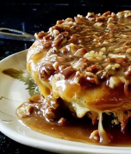 Buttermilk skillet cake- Looks sinful!