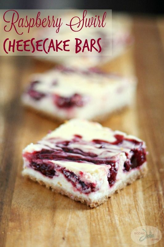 Christmas is coming, this is the perfect dessert recipe for entertaining! This EASY Raspberry Swirl Cheesecake Bars Recipe will delight...