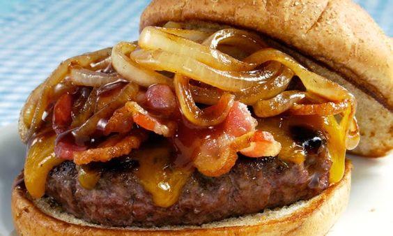 Faça em casa um verdadeiro X-bacon. | Cozinha Menina