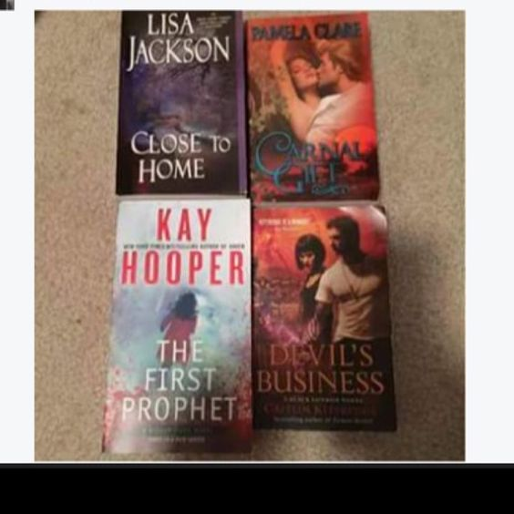For Sale: 4 Books for $7