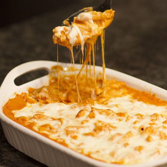 Copycat Olive Garden Baked Cheese Ziti
