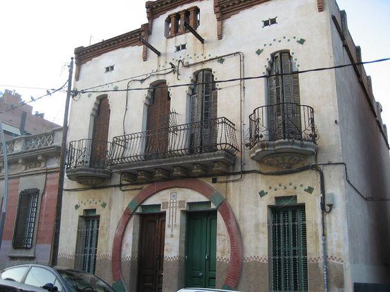 casa  modernista en la calle Salses