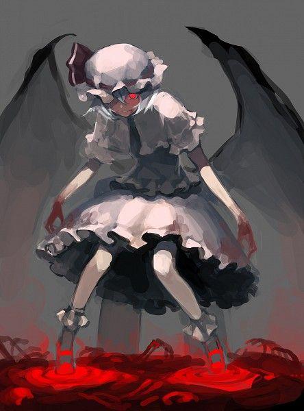 東方project 手を血に染めるレミリア・スカーレット)