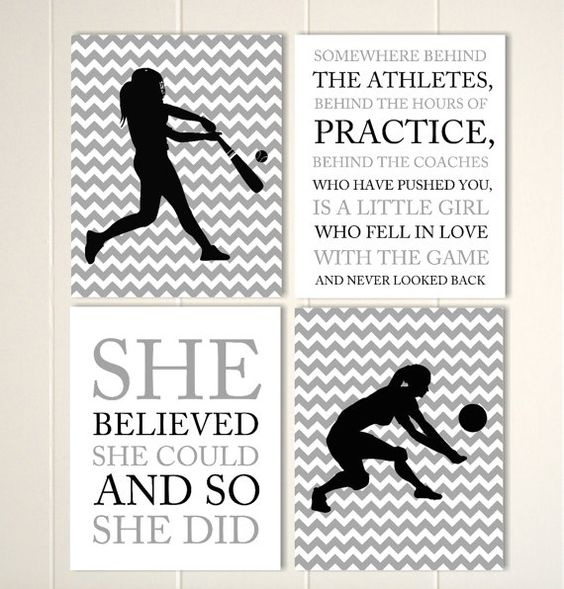 Volleyball girls volleyball and girl wall art on pinterest - Stuff for teenage girl rooms ...