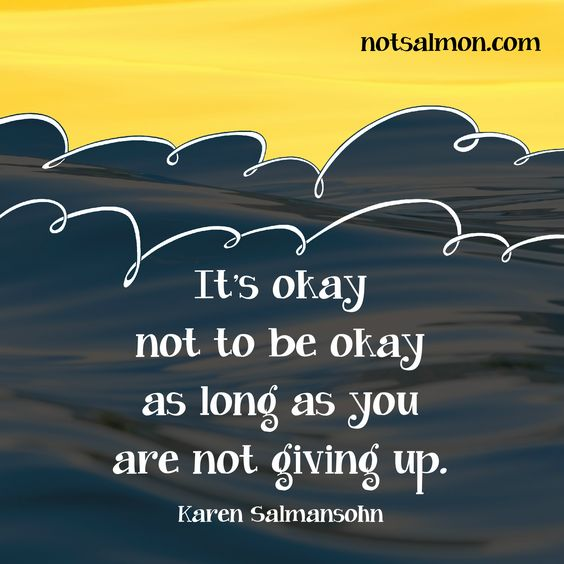 Informative essay about not giving up?
