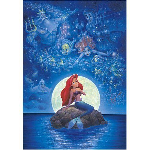Disney Jigsaw Puzzle The Little Mermaid Memory of Ariel 1000 Pieces Tenyo | eBay