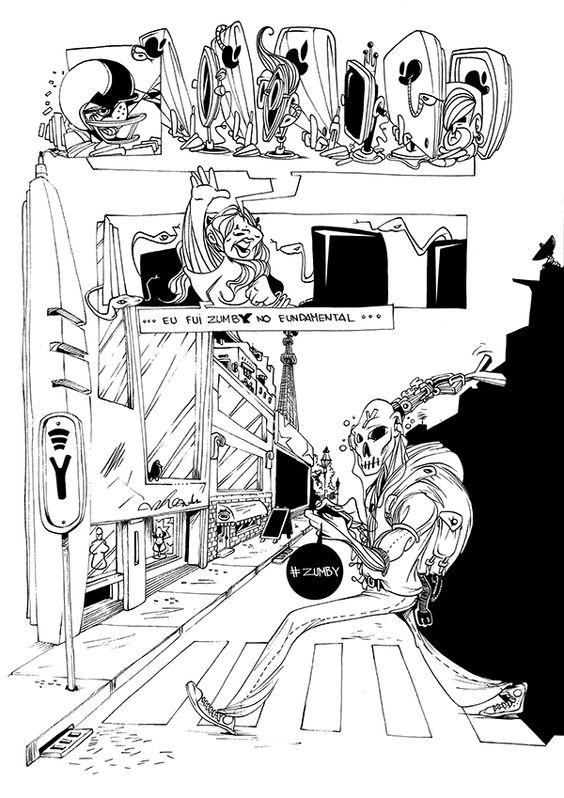 Livro Cidade dos Mortos Vivos.  Editora Dogzilla