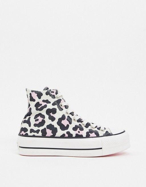 converse motif leopard