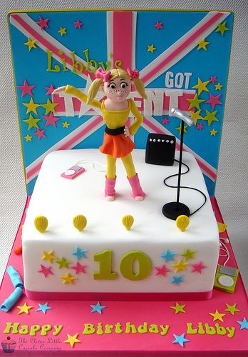 Britain's Got Talent Birthday Cake
