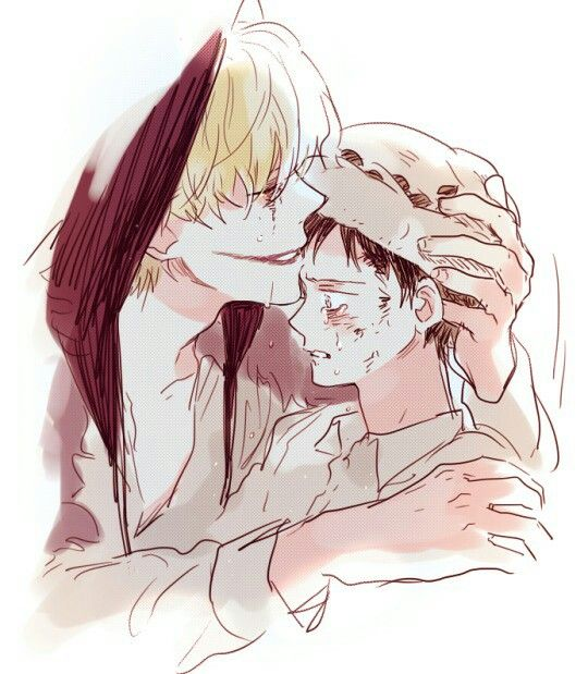 Don't cry Law... - Trafalgar D. Water Law and Donquixote Rocinante, (Corazon), (Corasan, Cora-san) One piece