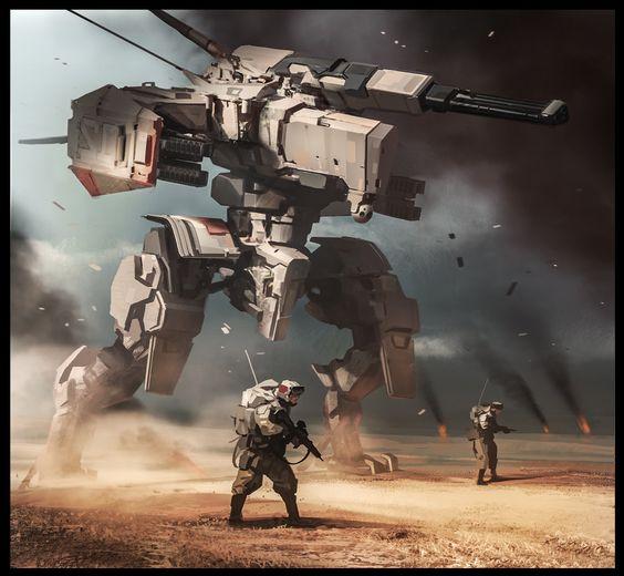 Recon squad, Daryl Mandryk on ArtStation at <a href=