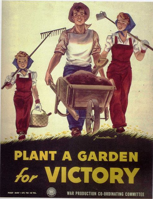 1940 S Poster Plant A Victory Garden To Support The