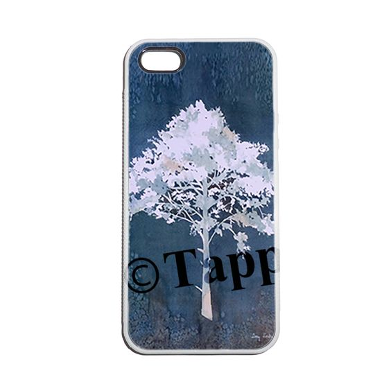 Indigo Tree Phone Case for iPhone 5/5S, iPhone 6, and Samsung S5