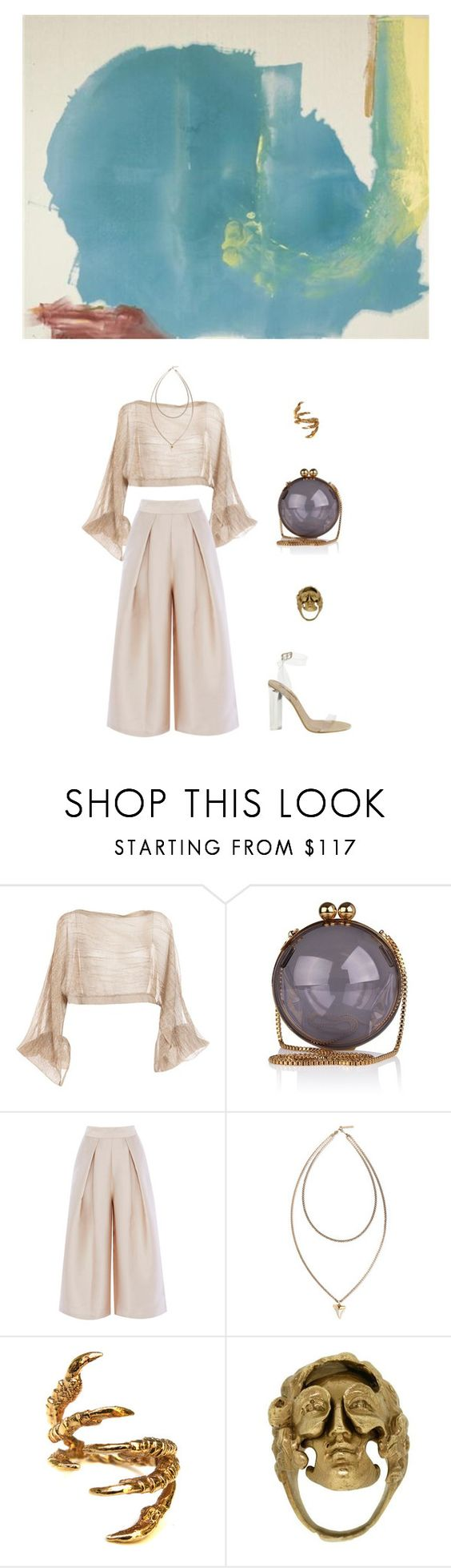"""""""Where Necessary"""" by oneweirdtrick ❤ liked on Polyvore featuring DAMIR DOMA, Givenchy, YEEZY Season 2, Tessa Metcalfe and Yunus & Eliza"""