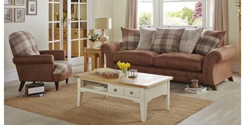 Woodland Left Hand Facing 3 Seater Pillow Back Corner Sofa Oakland | DFS |  FRONT ROOM | Pinterest | Pillows, Living Rooms And Lounge Ideas