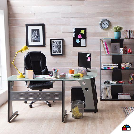 Convierte cualquier lugar de tu casa en el lugar perfecto for Ideas para decorar un estudio en casa