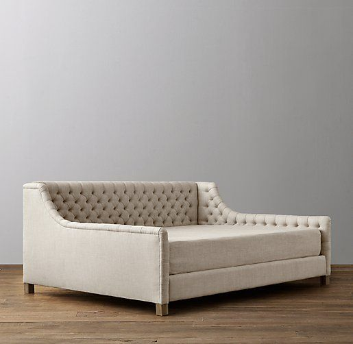 Daybed Mattress Slipcover from RH