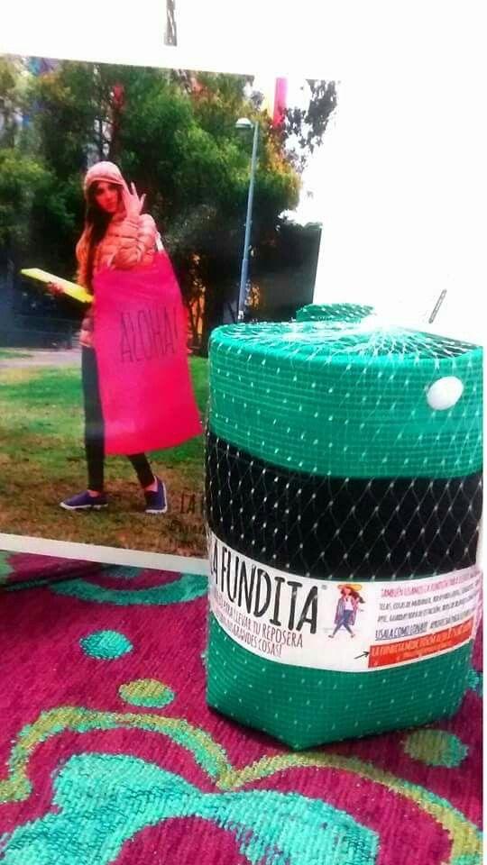 """La fundita fue elegida como """"producto novedoso"""" en @expopresentes y está siendo exhibida en la vidriera destacada"""