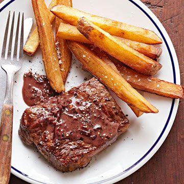 Steak with Pan Sauce