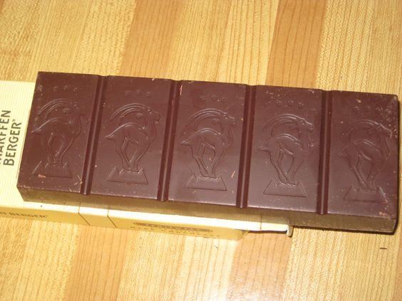 scharffenberger chocolate yummmm!