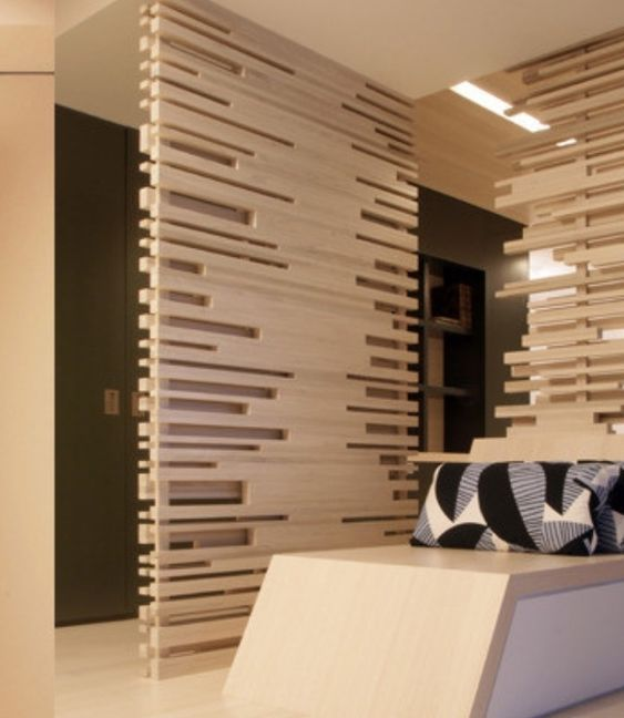 Wall dividers screens and d on pinterest for Office interior partition design