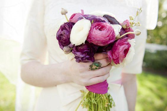 Brautstrauß: Welche Blumen zu welcher Jahreszeit
