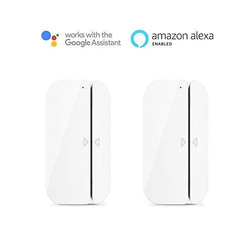 Wi Fi Door Window Sensor Aicliv Smart Magnetic Door Sens Https Www Amazon Ca Dp B07gbqpqsg Ref Cm Sw R Pi Dp U Alarm Systems For Home App Remote Burglar