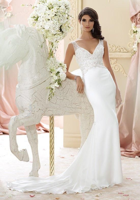David Tutera for Mon Cheri 215276 - Briony Wedding Dress - The Knot