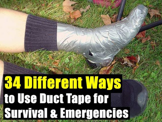 What are some good uses for DUCT TAPE?