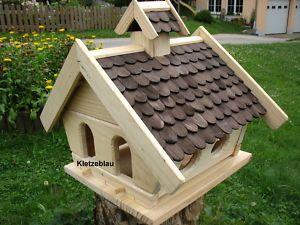 gro es vogelhaus vogelfutterhaus vogelh user vogelh uschen. Black Bedroom Furniture Sets. Home Design Ideas