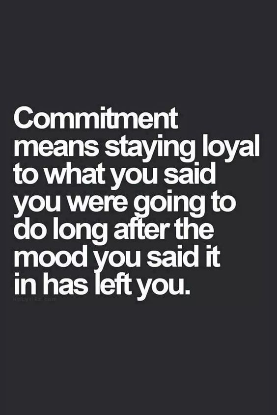 Don't need a ring or a piece of paper to be committed. Just do what you say you're gonna do, what you promised to do and she will see your commitment.