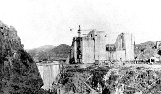 1931 Maroc barrage de...